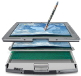 Figure 1. The Wacom Cintiq lets users digitally draw as if  they were using pencil and paper.