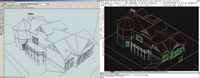 Figure 4. Free plug-ins convert SketchUp models to  Architectural Desktop, ArchiCAD, Revit and VectorWorks models.