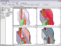 Figure 7. Autodesk s Revit platform has an excellent built-in preliminary design modeling tool, which is great for organic shapes.