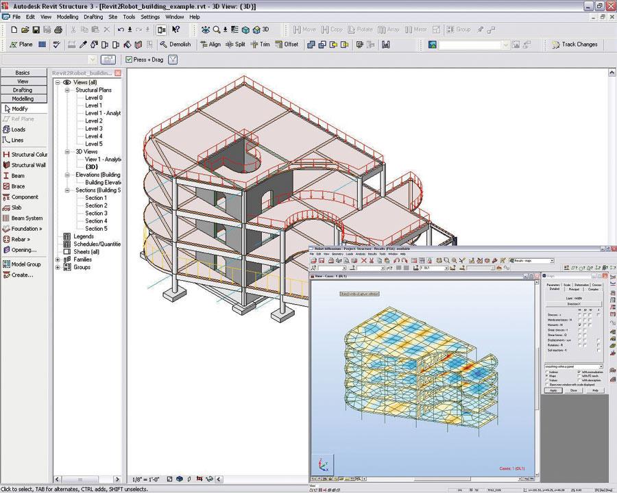 Cadalyst Labs Review: Autodesk Revit Structure 3   Cadalyst