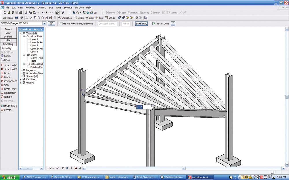 Cadalyst Labs Review Autodesk Revit Structure 3 Cadalyst