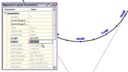 how to create alignment in autocad civil 3d