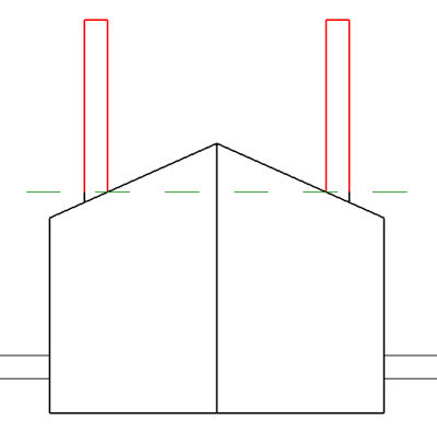 how to draw a dormer in revit
