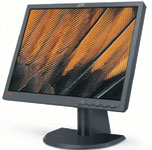 The ThinkVision L201p from Lenovo offers a sleek design and an excellent display.