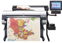 "The 44"" imagePROGRAF W8400 has 7,680 nozzles to provide 2400X1200 print resolution."