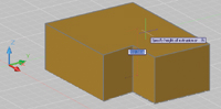 Figure 2. When creating extrusions, users can drag the height dynamically.
