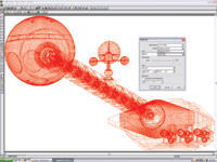 Imagenation 8 can be configured to open a 3D file in either 3D model mode or 2D projection mode. Users can view models in 3D mode to rotate, measure, transform, cross-section and apply 3D markups to CAD models.