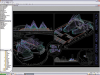 Slick! ViewPlus for Windows can view DWG, DWF and DXF files from AutoCAD Release 12 through 2006.
