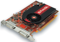 The ATI FireGL V3400 with Avivo technology is an entry-level workstation graphics card with 128MB of onboard memory.