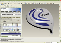 Figure 1. PING, a golf gear manufacturer, began using Pro/ENGINEER to produce iterations of its products.