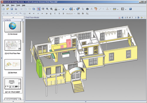 First look review autodesk design review 2007 cadalyst for 3d architecture software reviews