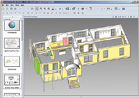 Figure 1. Autodesk Design Review 2007 lets users review both 2D and 3D design files with an easy-to-use interface.