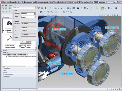 First look review autodesk design review 2007 cadalyst 3d cad software