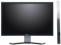 "Dell's UltraSharp 2407WFP 24"" monitor posted excellent marks for its display quality."