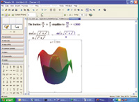 With Maple 10, You can plot your math in 3D shaded graphics to get an at-a-glance picture.