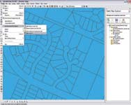 Figure 2. One of Map 3D 2007 s strengths is multiuser editing capabilities, especially multiuser editing of DWG files. Using the software s query functionality, multiple users can access and edit the same sets of files or base maps simultaneously.