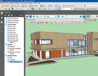 Figure 1. With Adobe Acrobat 3D, you can create a variety of views of a model, complete with lighting and textures.