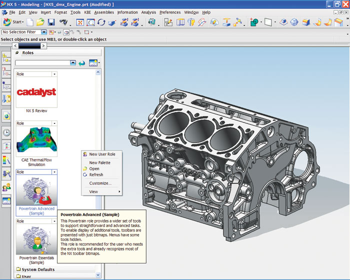 Nx 5 Part 1 Cadalyst Labs Review Cadalyst