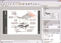 Figure 1. The most important addition to Google SketchUp Pro 6 is a new application called LayOut. Originally conceived as a sister product to Sketch-Up, LayOut is a full-featured tool used to create and show presentations.