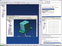 The free Alibre Design Xpress is a capable 3D solid modeler for creating mechanical parts, assemblies and 2D drawings.