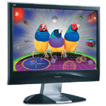 Of all the monitors in this roundup review, the ViewSonic VX2835wm display provides the fastest response times: 3 ms for gray-to-gray and 5 ms for black-to-white-to-black.