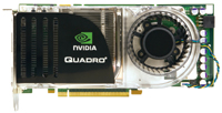 The NVIDIA Quadro FX 4600 is an ultrahigh-end PCIe graphics card based on the G80GL GPU and boasts 768 MB of onboard GDDR3 RAM.