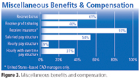 Figure 3. Miscellaneous benefits and compensation.