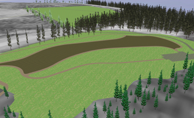 RDV Software Was Used To Show How A Former Landfill Site Could Be Transformed Into Public Park