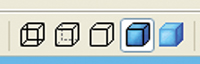Figure 3. SolidWorks was the first program I saw using these icons.