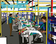 Figure 1. Digital prototyping enters a new phase as manufacturers begin to use virtual avatars to verify and eliminate safety and ergonomic issues on the plant floor.