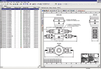 Figure 1. T3 uses ENOVIA SmarTeam to control access to all engineering documents, such as the BOM shown here.