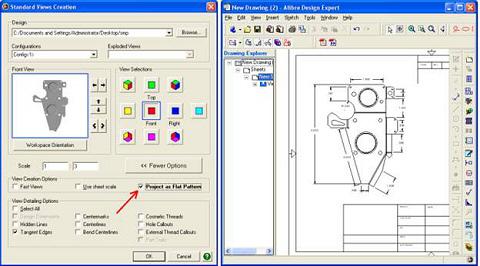 Create flat pattern in sheet metal - WikiHelp