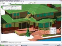 Coupled with AcceliCAD, AcceliArch provides a low-cost alternative that is DWG compatible and can be used alongside or in place of AutoCAD.