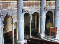 Figure 2. An interior view of the synagogue.