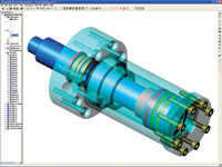 Alibre Design Xpress Plus is for 3D CAD beginners or users who want an entry-level application that offers much of the functionality of professional software.