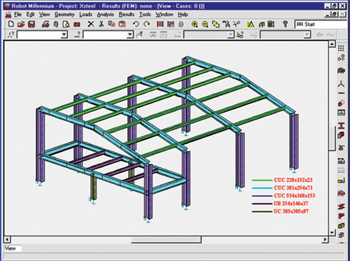 ... tighter integration between Revit and ROBOT MILLENIUM, shown above