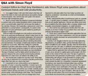 Q&A with Simon Floyd