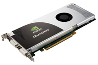 The NVIDIA Quadro FX 3700 is a high-end PCIe 16x graphics card that features 512 MB of onboard RAM and is PCIe 2.0 compliant.