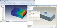 MSC.Software introduced simulation solutions that plug into PTC s products. For example, users can run simulation on Pro/E models using the SimExpert module, which is part of the SimEnterprise package.
