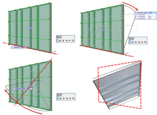 Mastering ArchiCAD's Curtain Wall Accessory and Junction Placement ...