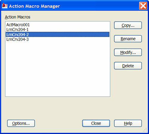 Commands, Macros, Action! in AutoCAD 2009 and 2010 | Cadalyst