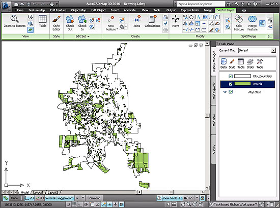 how to create a vicinity map in autocad