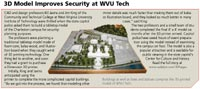3D Model Improves Security at WVU Tech