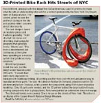 3D-Printed Bike Rack Hits Streets of NYC