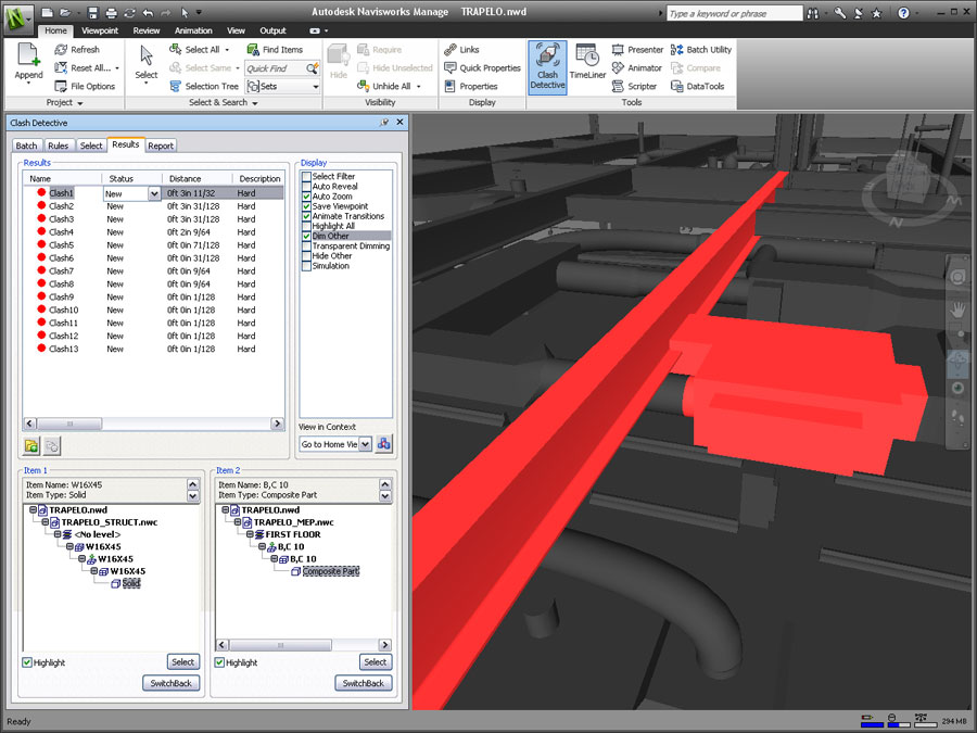 Navisworks Clash Detection Model : The future of software for aec autodesk s direction
