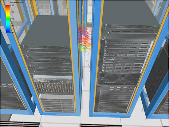 Virtual Facility Simulation Cuts Data Center Cooling Costs