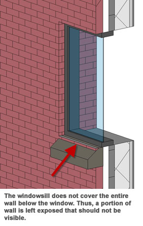 Brick Sill Detail Revit Related Keywords Brick Sill