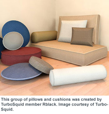Shortest Route to a 3D Throw Pillow | Cadalyst
