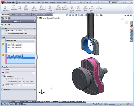 Understanding Contact in SolidWorks Simulation | Cadalyst
