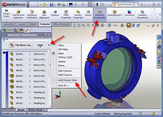 Display States in SolidWorks | Cadalyst